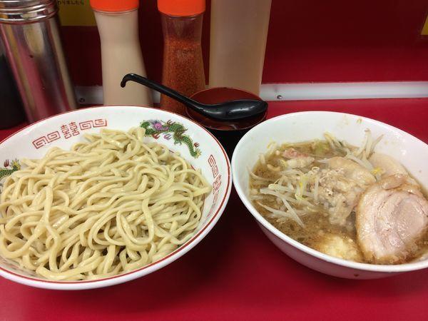 「つけ麺(小ラーメン)」@ラーメン二郎 湘南藤沢店の写真