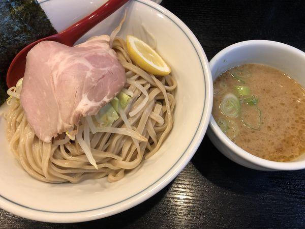 「鶏白湯濃厚つけ麺」@雨ニモマケズの写真