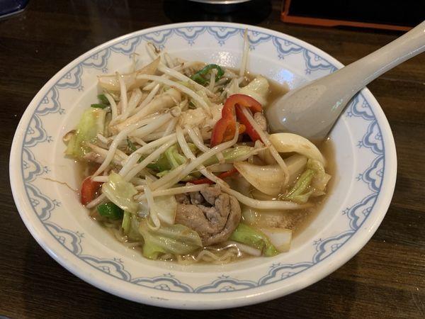 「あんかけラーメン ¥680」@くろひげ・お食事処の写真