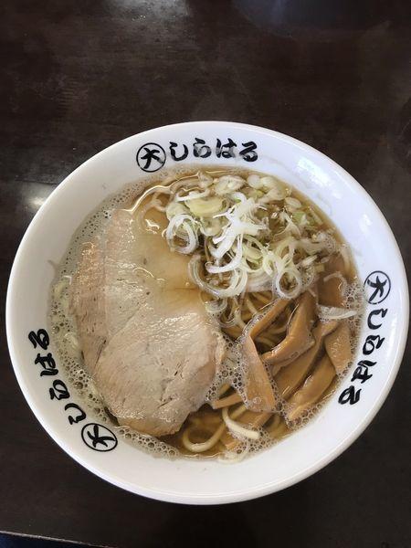 「煮干しラーメン」@◯大しらはるの写真