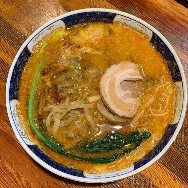 「支那そば担々麺」@支那麺 はしご 新小岩店の写真
