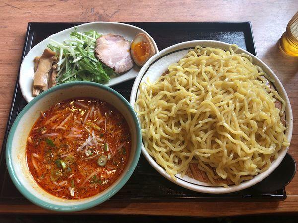 「担々つけ麺」@ラーメン一筋 めん商人 南守谷店の写真