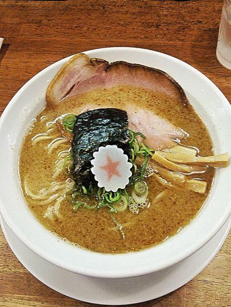 「らーめん(濃厚魚介豚骨)780円」@麺匠うえ田の写真