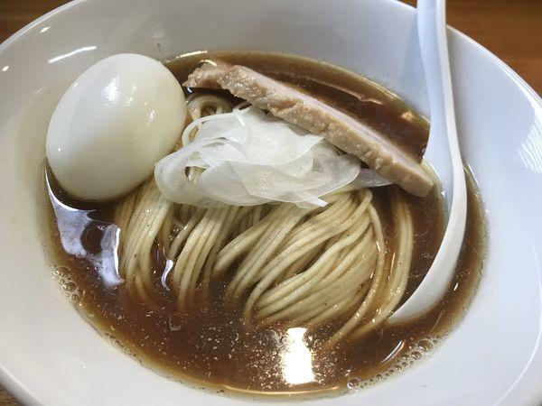 「煮干しそば味玉+和え玉」@煮干中華ソバ イチカワの写真