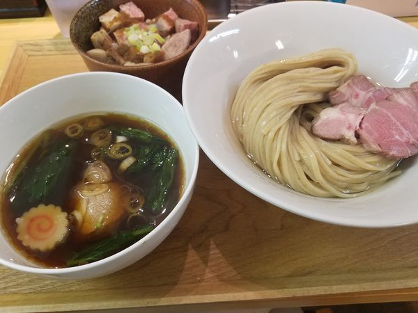 「昆布水つけ麺」@らぁ麺 はんにゃの写真