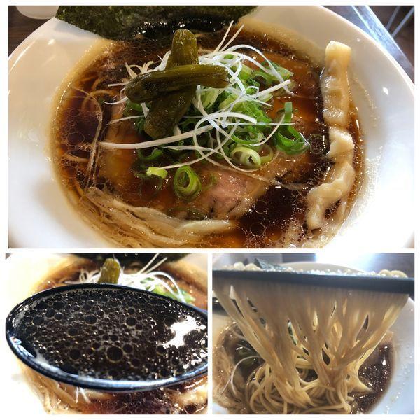 「【限定】真心ブラック   850円」@麺屋 真心の写真