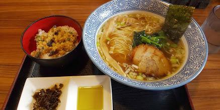 「淡麗醤油鶏そば、ミニ丼」@らーめん鈴家の写真