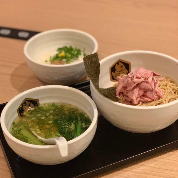 「PARCO限定ぶりつけ麺」@真鯛らーめん 麺魚 錦糸町PARCO店の写真