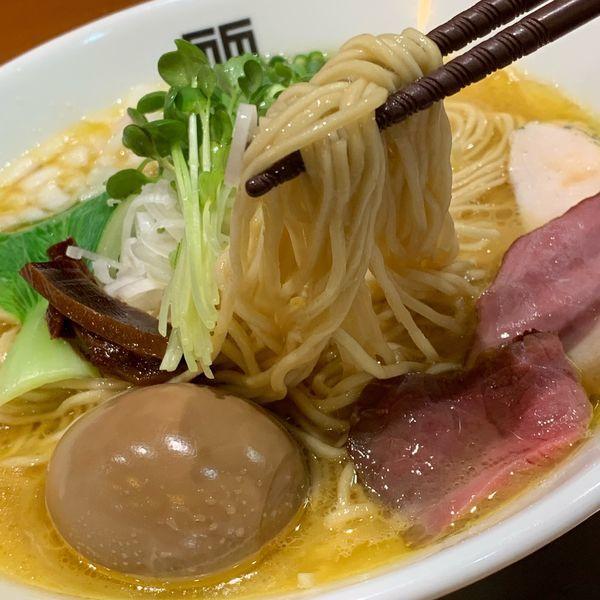 「味玉鶏そば」@竹末東京プレミアムの写真