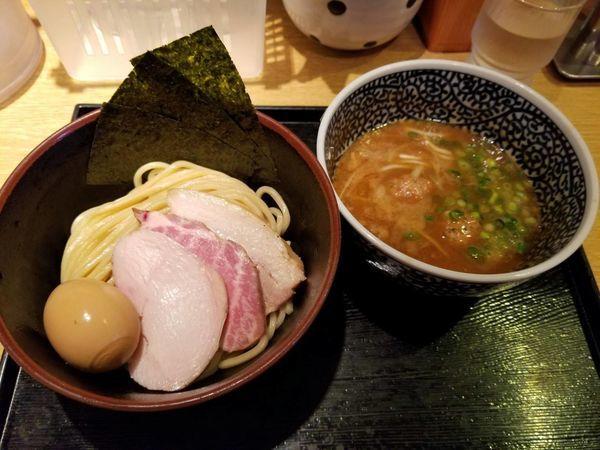 「特製濃厚魚介つけ麺 1350円」@麺屋 一燈の写真