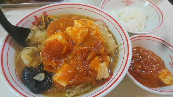 「蒙古タンメン定食」@蒙古タンメン 中本 目黒店の写真