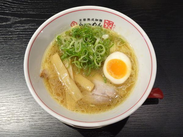 「京らぁ~めん」@京都熟成細麺らぁ~めん 京 河原町三条店の写真