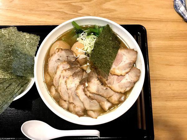 「チャーシュー麺」@中華そば 松葉の写真