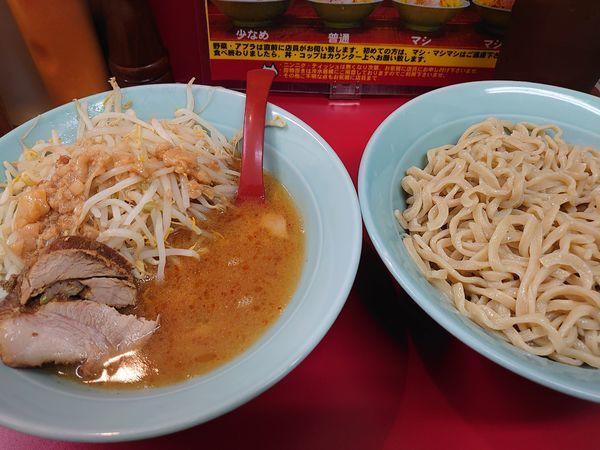 「つけ麺 中盛(麺350g)」@立川マシマシ 足利総本店の写真