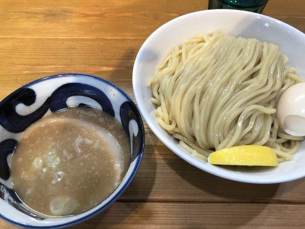 「味玉ゴールデンつけ麺(塩)400g」@ゴールデンタイガーの写真