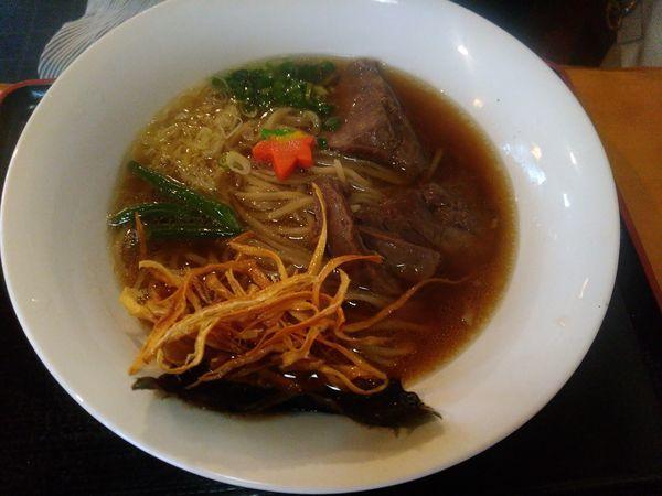 「牛骨2号らー麺(醤油)」@牛骨ロックの写真