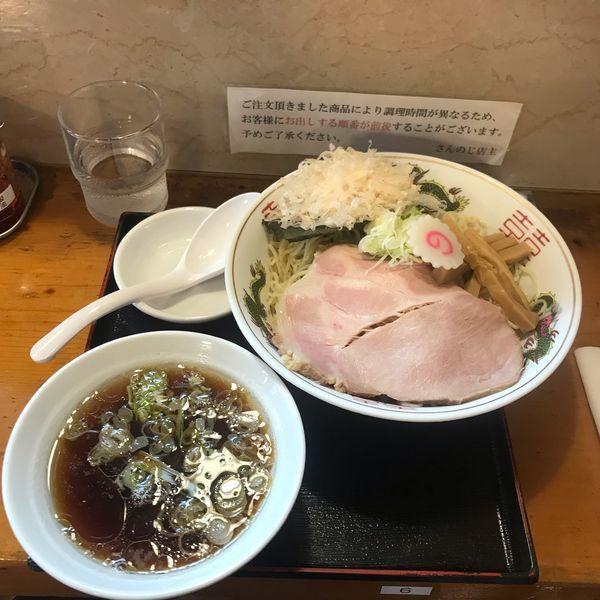 「つけ麺 大盛り」@さんのじの写真
