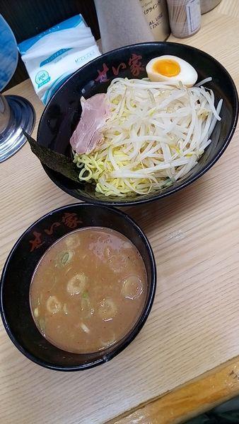 「つけ麺(味噌)500円」@せい家 上板橋店の写真