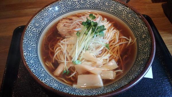 「芳醇鶏そば醤油(780円)」@麺屋 ふぅふぅ亭の写真