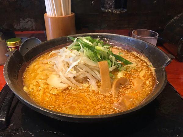 「焼き味噌ラーメン(大盛り)」@麺屋 蔵人 茅野本店の写真