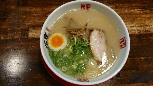 「新白味 720円 (かた)」@信州麺屋 きまはち商店の写真