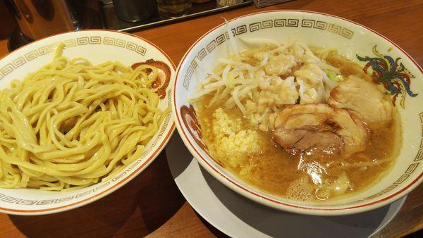 「小ラーメン¥750+つけ麺に変更¥100」@ラーメン豚山の写真