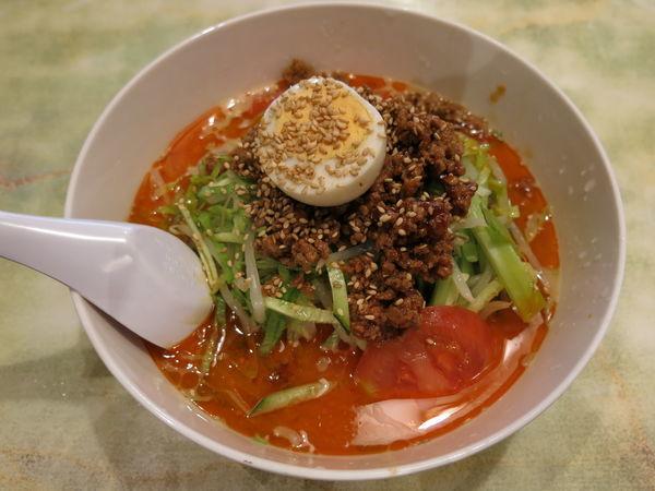 「冷し坦々麺:900円」@中華料理 八幡の写真
