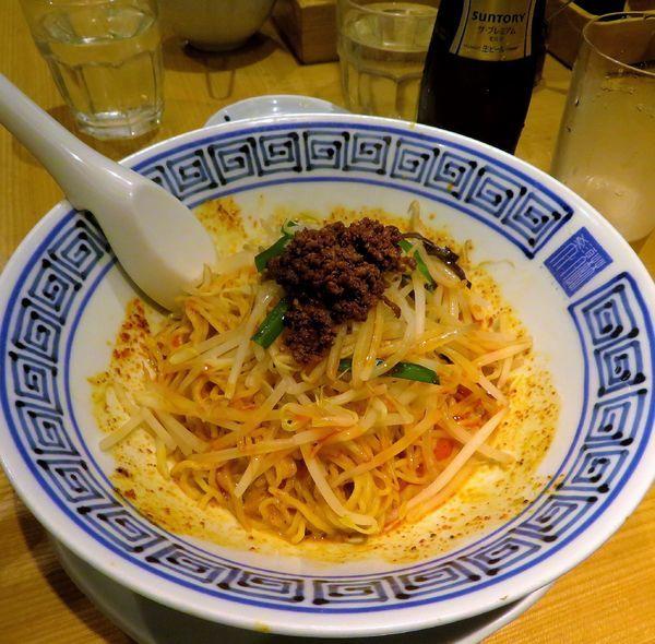 「汁なし担々麺(980円)」@希須林 赤坂店の写真