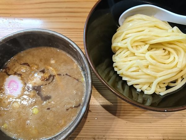 「濃厚つけ麺(850円)」@銀座 朧月の写真