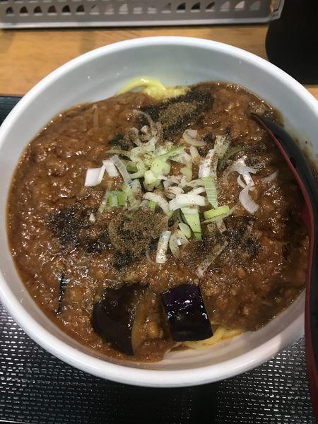 「【限定】麻婆茄子麺」@味噌麺処 花道の写真