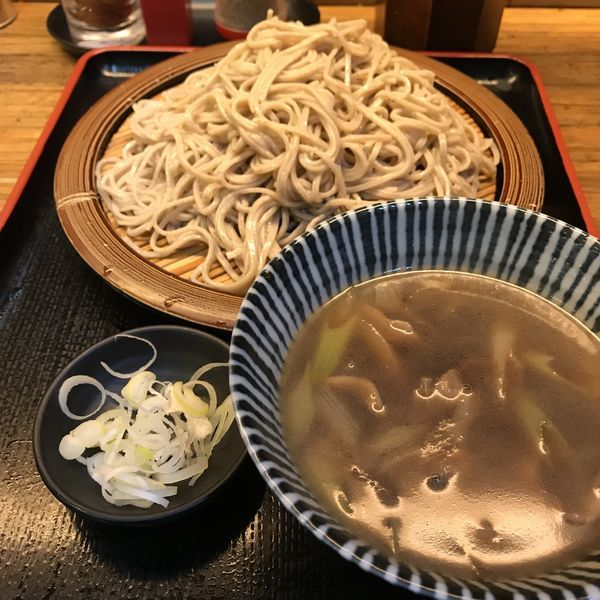 「鴨セイロ(¥540)」@そば新 蒲田西口店の写真