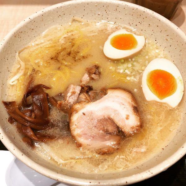 「味玉味噌ラーメン」@つじ田 味噌の章 東京駅店の写真
