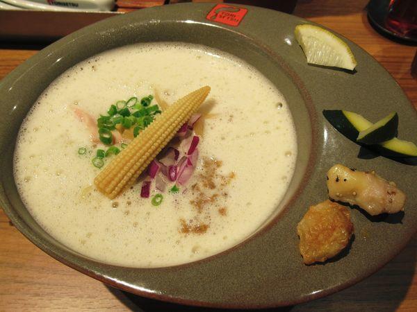 「鶏白湯ラーメン(856円)」@RAMEN FACTORY TORISETSUの写真