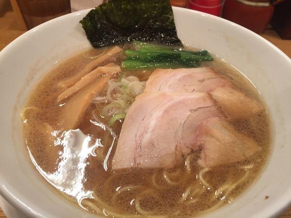 「中華そば」@江戸前つけ麺 サスケの写真