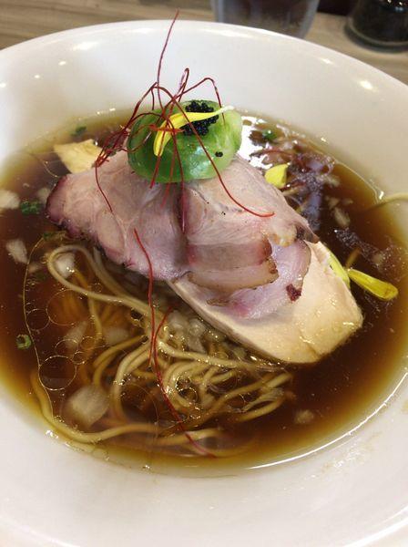 「鶏と水 780円」@つくばらーめん 鬼者語 -オニモノガタリ-の写真
