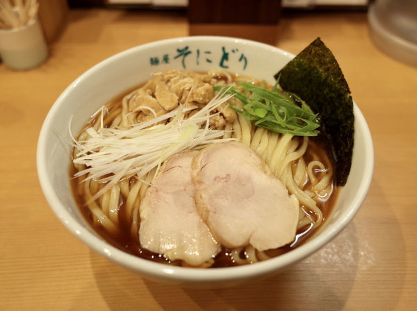 「香露…850円+麺大盛…100円」@麺屋 そにどりの写真