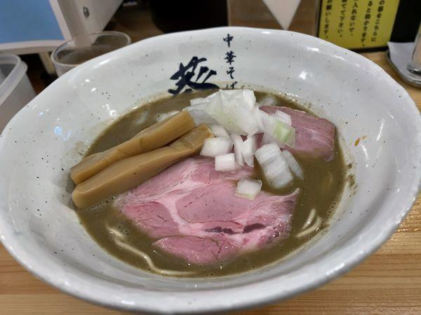 「【限定】鴨×煮干し」@濃厚煮干らーめん 川むらの写真