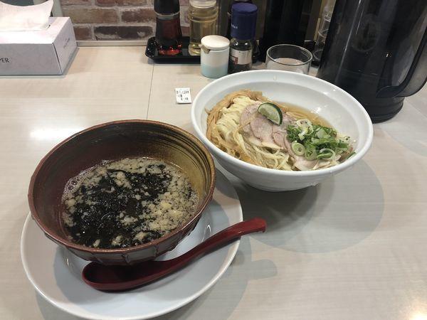 「煮干しと昆布水のつけ麺」@麺匠 克味の写真