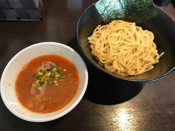 「限定 濃厚オマールエビつけ麺(800円)」@麺屋ひぶたの写真