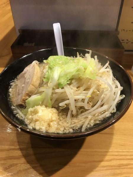 「醤油並ニンニク」@麺 たなかの写真