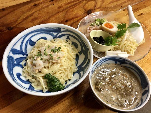 「【限定】ザ・イカ納豆 ¥1000+大盛り¥100」@中華そば よしかわの写真