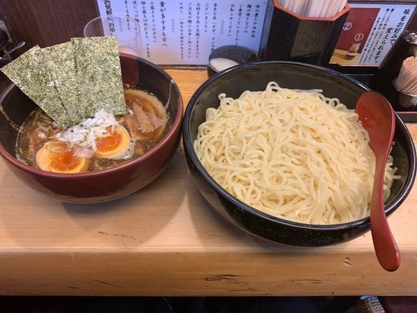 「つけ麺(全部のせ)」@竹屋 田無店の写真