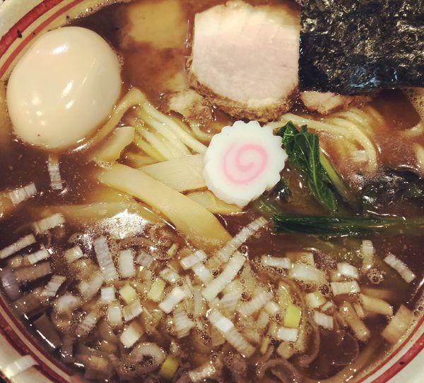 「ラーメン(中) +味玉」@人形町 兎屋の写真