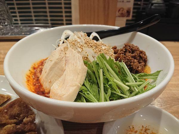 「排骨冷やし担々麺(3辛)」@かつぎやの写真