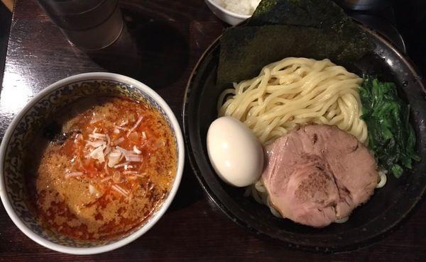 「特製坦坦つけ麺」@ほうきぼし+の写真