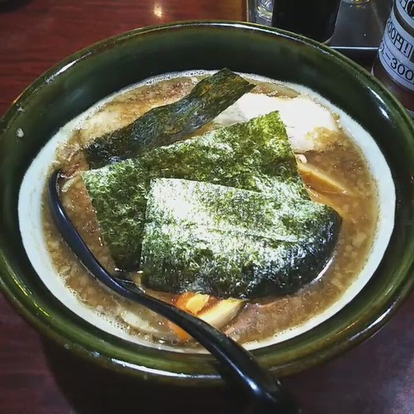 「豚骨魚介ラーメン」@大島ラーメン 渋谷店の写真