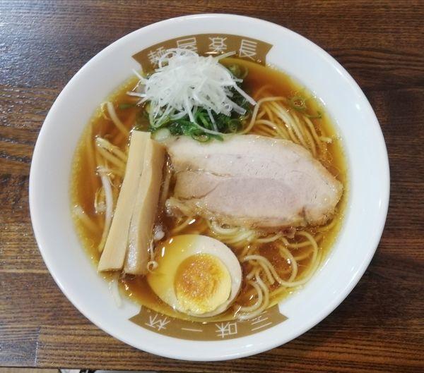 「鶏ガラ中華そば」@麺屋楽長。の写真
