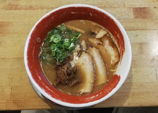 「チャーシュー麺」@徳島ラーメン 麺王 岡山駅前店の写真