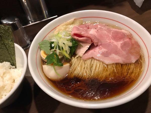 「醤油ラーメン」@八咫烏の写真