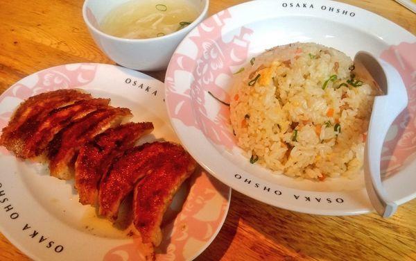 「五目炒飯」@大阪王将 品川店の写真